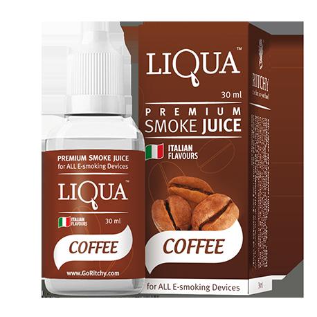 E-liquid LIQUA - Káva